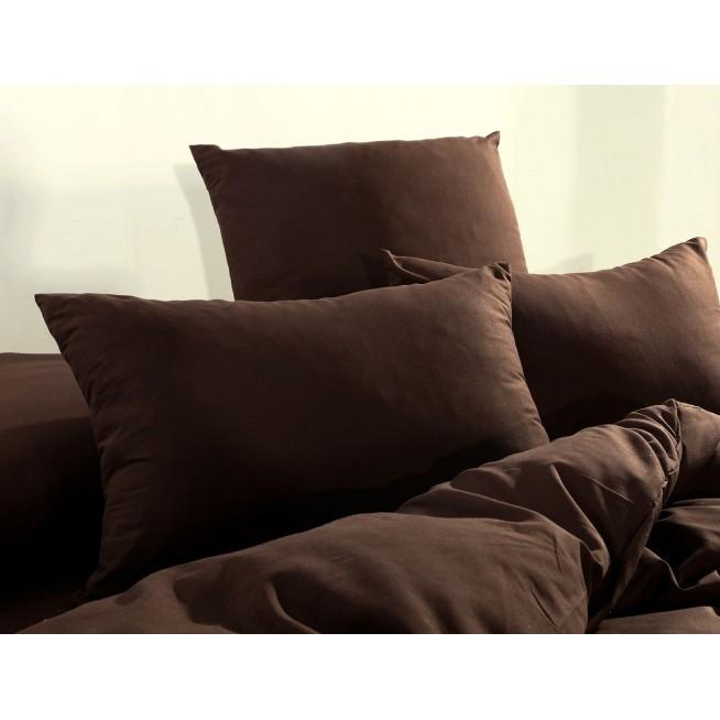 Однотонный сатин белье постельное CS016 евро СИТРЕЙД