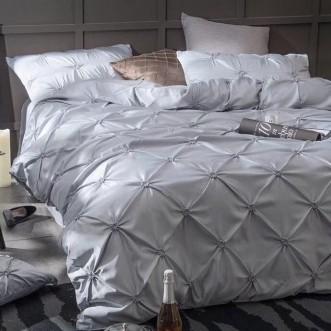 Белье постельное Люкс сатин-шелк DH009 евро 200х220 СИТРЕЙД