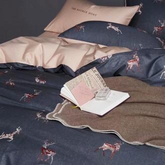 Мако-сатин белье постельное Премиум CPA009 евро 200х220 СИТРЕЙД