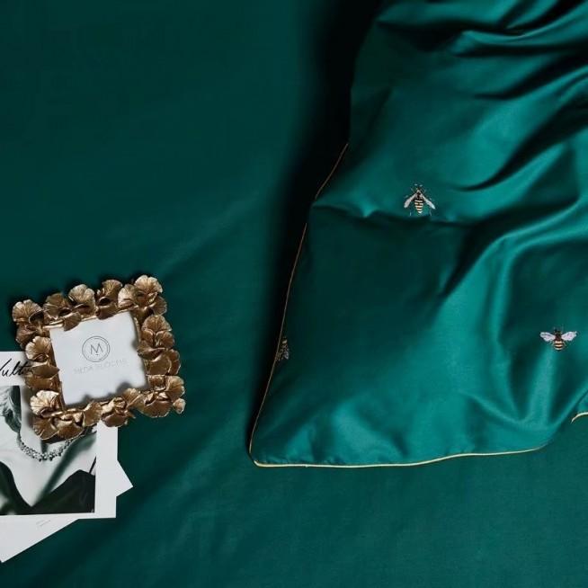 Белье постельное Премиум мако-сатин CPA010 евро 200х220 СИТРЕЙД