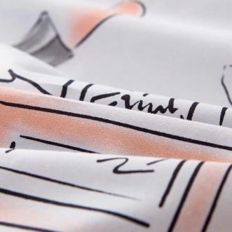 Белье постельное Премиум мако-сатин CP002 евро 200х220 СИТРЕЙД