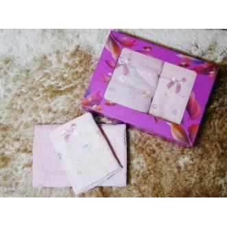 Набор банных полотенец в подарочной упаковке PSH01 50х90 и 70х140 СИТРЕЙД