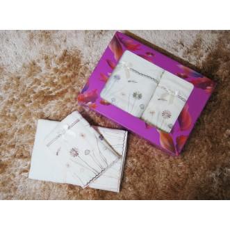 Набор банных полотенец в подарочной упаковке PSH02 50х90 и 70х140 СИТРЕЙД