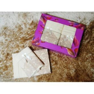 Набор банных полотенец в подарочной упаковке PSH03 50х90 и 70х140 СИТРЕЙД