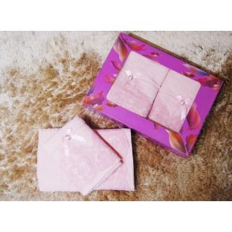 Набор банных полотенец в подарочной упаковке PSH06 50х90 и 70х140 СИТРЕЙД