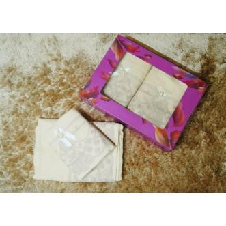 Набор банных полотенец в подарочной упаковке PSH08 50х90 и 70х140 СИТРЕЙД