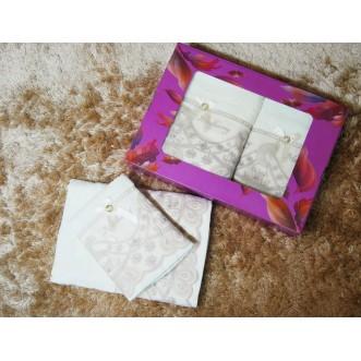 Набор банных полотенец в подарочной упаковке PSH09 50х90 и 70х140 СИТРЕЙД