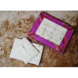 Набор банных полотенец в подарочной упаковке PSH10 50х90 и 70х140 СИТРЕЙД