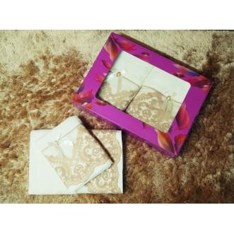 Набор банных полотенец в подарочной упаковке PSH12 50х90 и 70х140 СИТРЕЙД