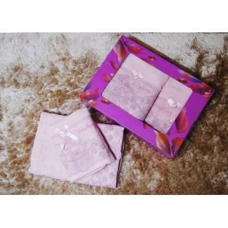 Набор банных полотенец в подарочной упаковке PSH13 50х90 и 70х140 СИТРЕЙД