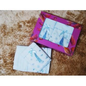 Набор банных полотенец в подарочной упаковке PSH14 50х90 и 70х140 СИТРЕЙД
