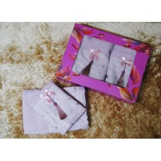 Набор банных полотенец в подарочной упаковке PSH16 50х90 и 70х140 СИТРЕЙД