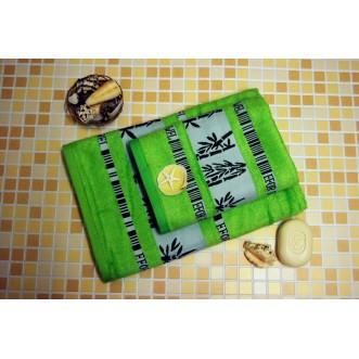 Полотенца махровые бамбук PL01 50х90 СИТРЕЙД