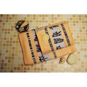 Полотенца махровые бамбук PL03 50х90 СИТРЕЙД