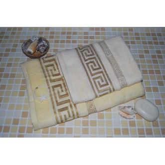 Полотенца махровые бамбук PC01 70х140 СИТРЕЙД