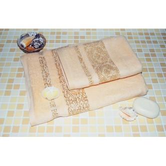 Полотенца махровые бамбук PD06 70х140 СИТРЕЙД