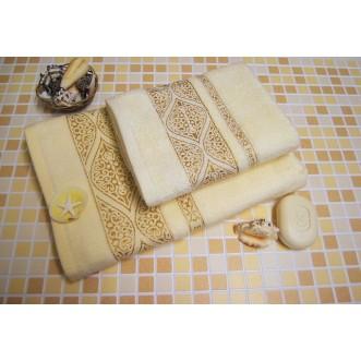 Полотенца махровые бамбук PF01 70х140 СИТРЕЙД