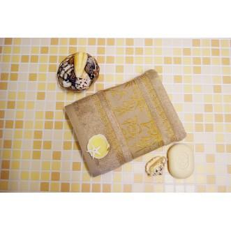 Полотенца махровые бамбук PG06 70х140 СИТРЕЙД