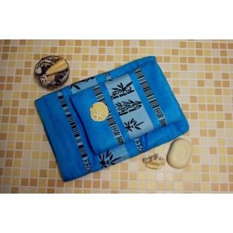 Полотенца махровые бамбук PL02 70х140 СИТРЕЙД