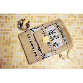 Полотенца махровые бамбук PL04 70х140 СИТРЕЙД