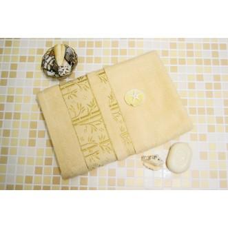 Полотенца махровые бамбук PM03 70х140 СИТРЕЙД