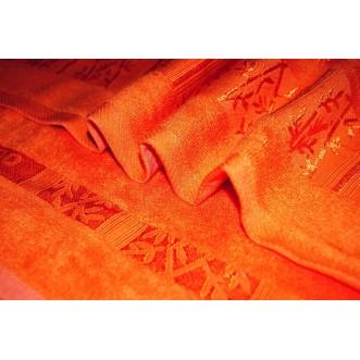 Полотенца махровые бамбук банные PN14 70х140 СИТРЕЙД