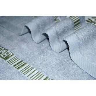 Полотенца махровые бамбук банные PL11 70х140 СИТРЕЙД
