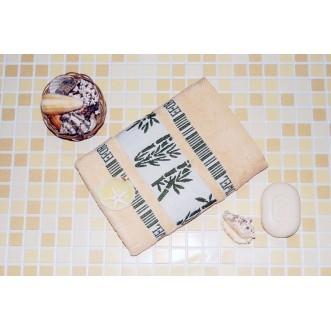 Полотенца махровые бамбук PL12 70х140 СИТРЕЙД