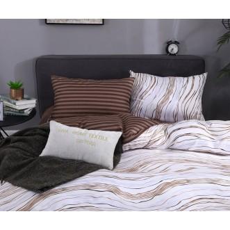 Подарочный сатин белье постельное AC063 1.5 спальное СИТРЕЙД