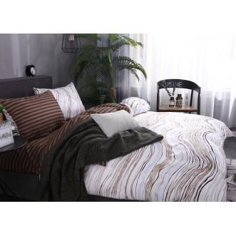 Постельное белье сатин Подарочный AC063 2 спальное СИТРЕЙД