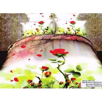 Постельное белье сатин TS01-71A 1/5 спальное Tango