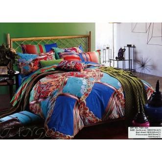 Постельное белье сатин TS01-33A 1/5 спальное Tango