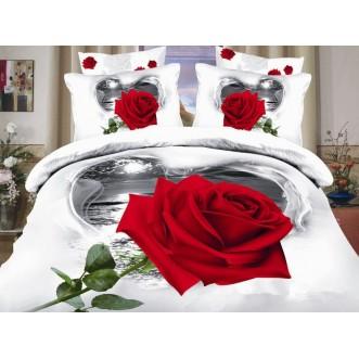 Постельное белье сатин TS01-750 1/5 спальное Tango