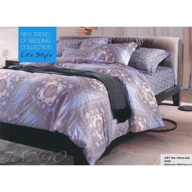 Постельное белье сатин TS01-668 1/5 спальное Tango