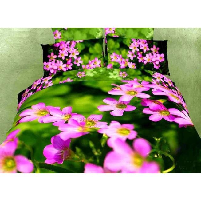Постельное белье сатин TS01-581 1/5 спальное Tango