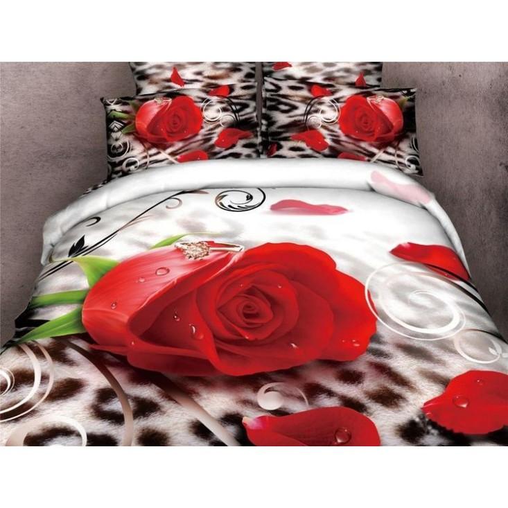 Постельное белье сатин TS02-42A 2 спальное Tango