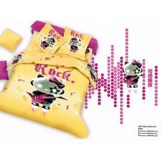 Постельное белье сатин TS02-875 2 спальное Tango
