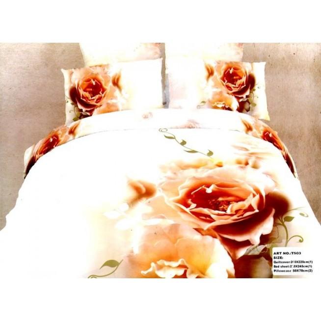 Постельное белье сатин TS03-409 евро Tango