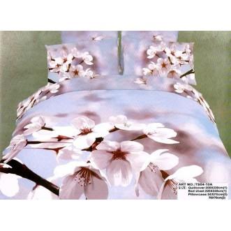 Постельное белье сатин TS04-10A 4 наволочки евро Tango