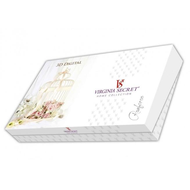 Белье постельное 3D 1057-18 евро Virginia Secret