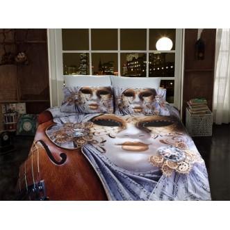 Постельное белье 3D 1334-01 евро Istanbul