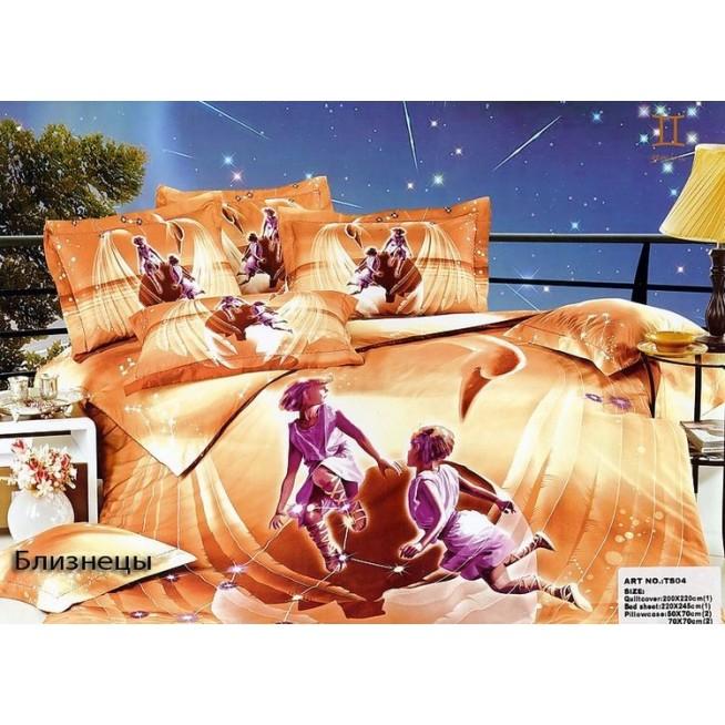 Купить комплект постельного белья Гороскопы Близнецы евро Tango