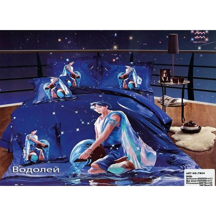 Купить комплект постельного белья Гороскопы Водолейевро Tango