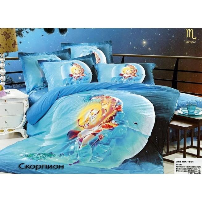 Купить комплект постельного белья Гороскопы Скорпионевро Tango