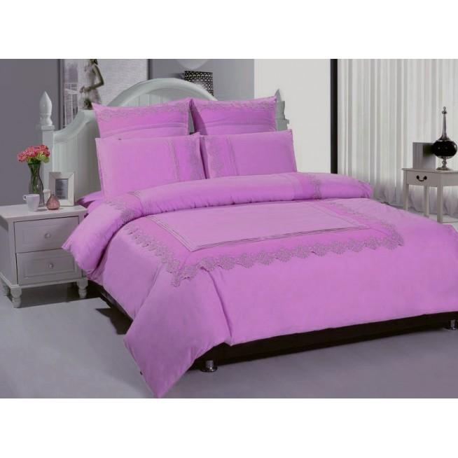 Купить комплект постельного белья Гипюр GPR6-07 евро Tango