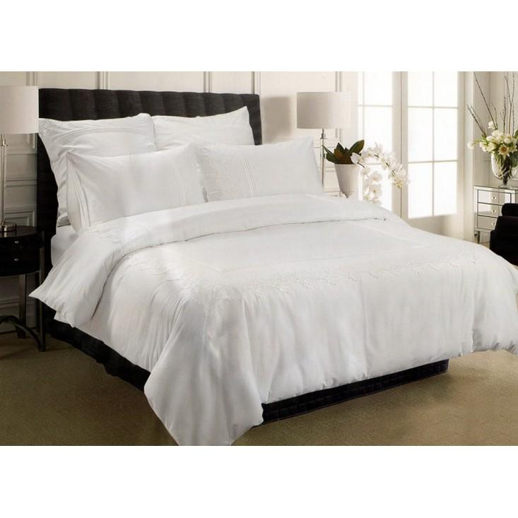 Купить комплект постельного белья Гипюр GPR6-01 евро Tango