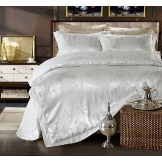 Купить комплект постельного белья Жаккард TJ111-26 евро Cristelle