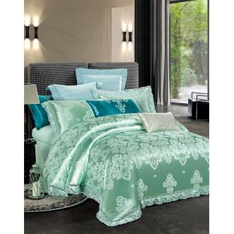 Купить комплект постельного белья Жаккард TJ111-29 евро Cristelle