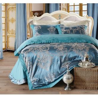 Купить комплект постельного белья Жаккард TJ111-23 евро Cristelle