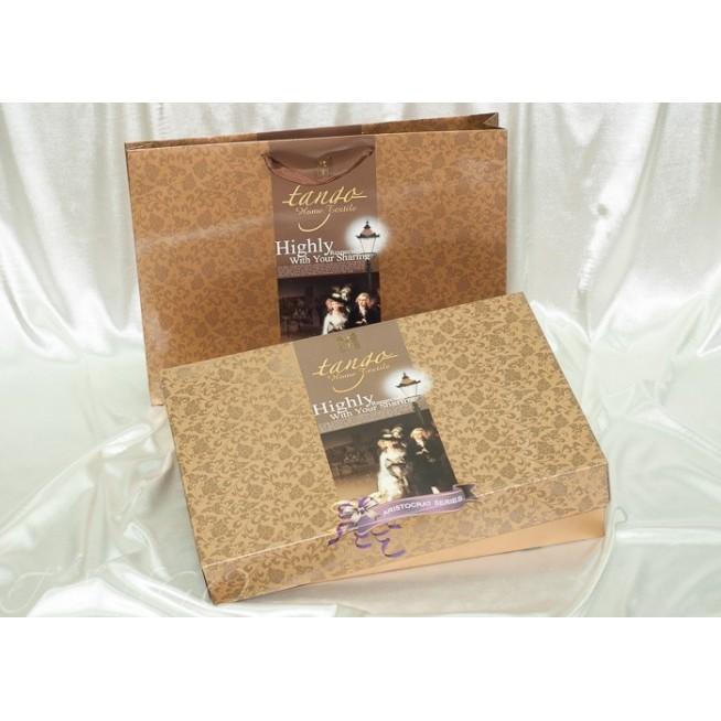 Постельное белье Жаккард TJ300-4 евро Tango
